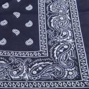 1 pc Cotton Scarf Paisley Bandana HeadWrap Hair wrap Double Side Print