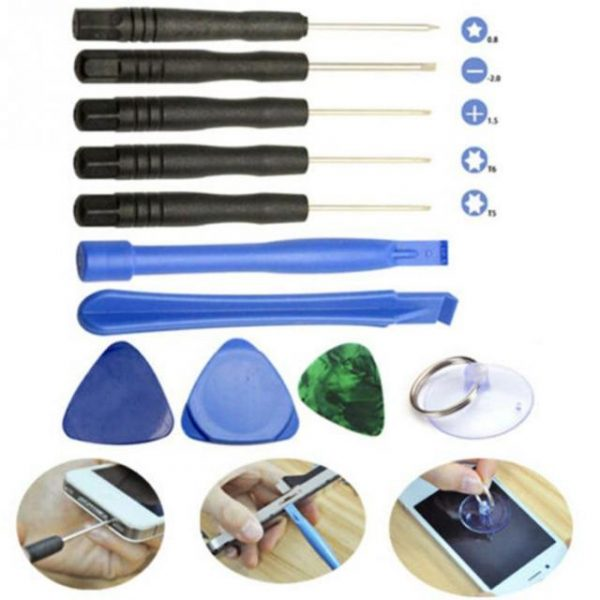 11 in 1 Mobile Phone Tablet Disassemble Kit Set Smart Phones Pry Repair Screwdrivers