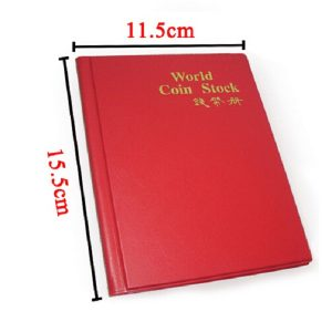 120 Openings Coins Album Coin Holder Pocket Album