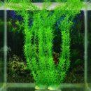 13 Inch Stunning Green Artificial Plastic Grass Fish Tank Water Plant Aquarium Decor
