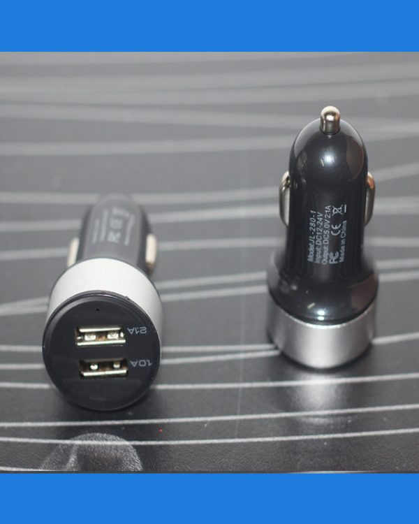 Mini Car Universal 2Port USB Charger Adapter For Cell phone