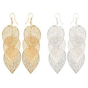Leaves Dangle Earrings