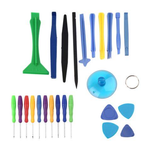 25 in 1 Mobile Cellphone Opening Repair Pry Tool Kit Screwdrivers Sucker