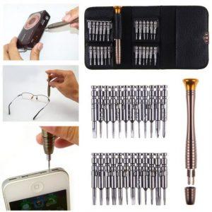 25 in 1 Precision Torx Screwdriver Cell Phone Wallet Repair Tool Set
