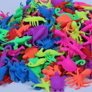 25 Pcs Ocean Animal Sea Creature Growing In Water