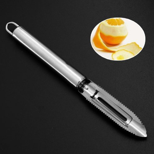 Durable Easy Quick Stainless Steel Fruit Apple Vegetable Potato Peeler Scraper Blade
