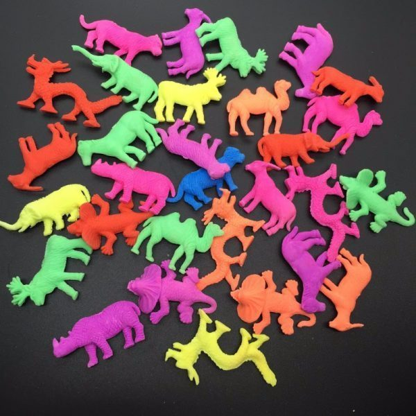 40 Pcs Middle Size Wild Animal Style For Kids Growing In Water