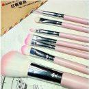 7pcs New Hello Kitty Mini Makeup brush tools Set