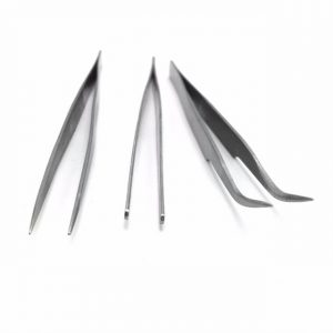 3pcs Stainless Steel Handcraft Tweezers Set Triad Fix Repair Hand Tool Kit For iPhone Smartphone