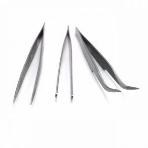 3pcs Stainless Steel Handcraft Tweezers Set Triad Fix Repair Hand Tool Kit For iPhone Smartphone