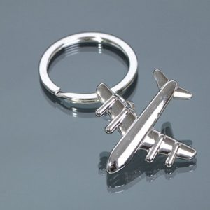 Air Plane Metal Key Chains