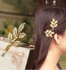 Athena olive branch only beautiful bride hairpin clip