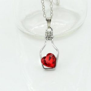 Bottle Pendant Necklace