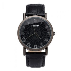 Casual Watches Men Contracted Roman Numerals Quartz Watch