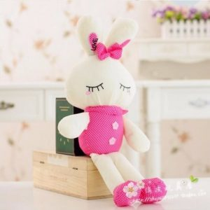 Metoo Love Rabbit Little Bunny Plush Toys Small Stuffed Animals Wedding