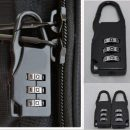 Black Travel Luggage Suitcase Combination Lock Padlocks Case Bag Password Digit Code Bag Locks