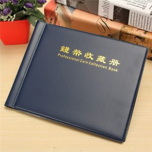 Professional Coin Collection Book Album Collect Money Penny 240 Holders 10 Pages Units Coin Album Book For Coins Collecting