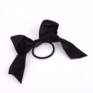 Lot hair accessories1 piece Women Tiara Satin Ribbon Bow Hair Band Rope Scrunchie