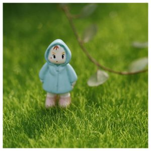 Artificial Lawn Miniature Garden Ornament Fake Grass Figurine Craft Plant Pot Fairy Decor 15x15cm/30x30cm