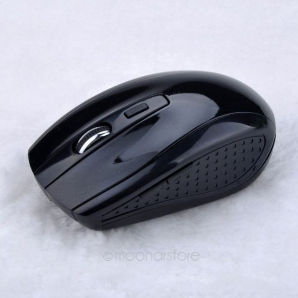 Fashion 2.4GHz USB Optical red Light Wireless Mouse USB Receiver Mice Cordless Game Computer PC Laptop Desktop