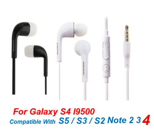 Earphone Headphone with Mic & Volume control For Samsung