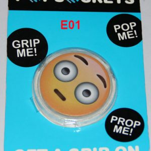 Emoji Popsockets Phone Grip & Stand Holder for iPhone Samsung Galaxy-E1