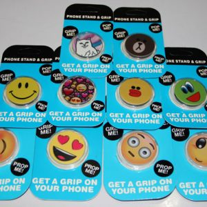 Emoji Popsockets Phone Grip & Stand Holder for iPhone Samsung Galaxy