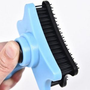 1PC Pet Dog Comb Long Hair Brush Plastic Handle Puppy Cat Massage Bath Brush Multifunction Pet Grooming Tool