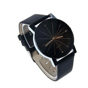 Faux Leather Wrist Digital Quartz Watch