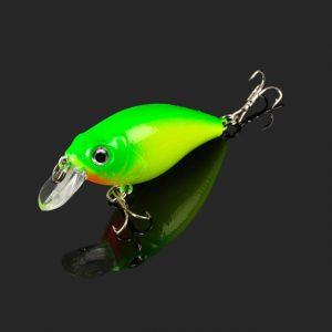 Fishing Lure Plastic Crankbait 7g55MM Wobbler 1 pcs for Fishing Bait Crank Isca Artificial for Pike