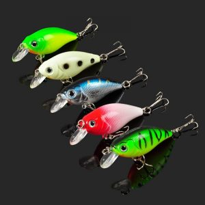 Fishing Lure Plastic Crankbait 7g55MM Wobbler 1 pcs for Fishing Bait Crank Isca Artificial for Pike