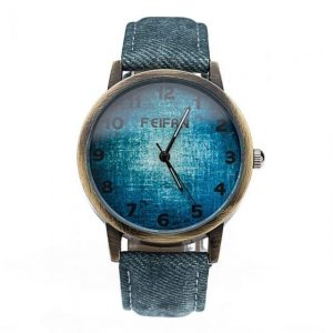 Gradient Quartz-watch Contracted Elegant Watch