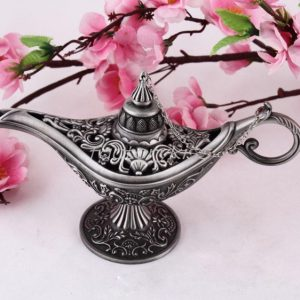 Fairy Tale Aladdin Magic Lamp Tea Pot Genie Lamp Vintage Retro Toys For Children Home Decorations