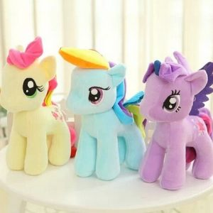 Cute Stuffed Animals Plush Horse 6 Colors Selling Dolls Wedding Gifts Plush Toy