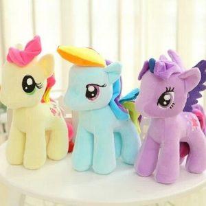 Cute Stuffed Animals Plush Horse 6 Colors Selling Dolls Wedding Gifts Plush Toy