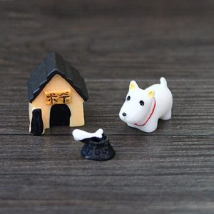 Mini animals 3pcs/set miniatures