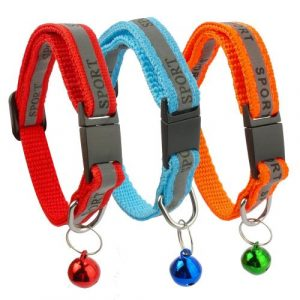 3 Colors Reflective Cat Collar