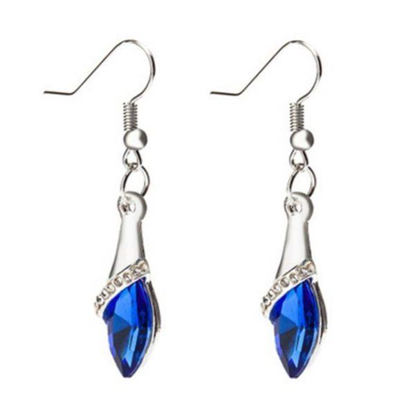 Fashion Crystal horse eye stone Stud earrings