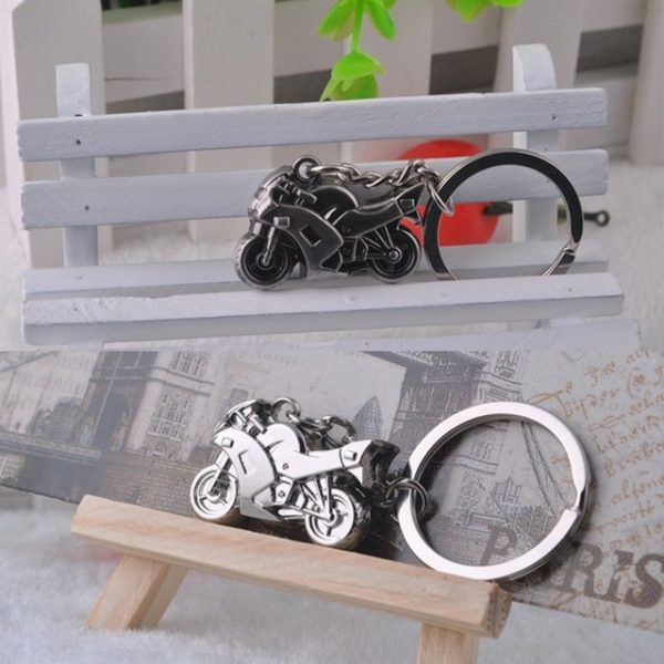 3D Simulation Motor Bike keychain