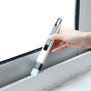 1PC 2 In 1 Multifunctional Window Slot Brush