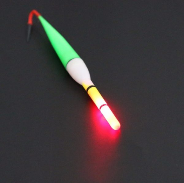 15CM Luminous Float Fishing Cork Plastic Floater LED