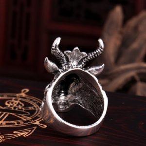 Silver Skeleton Ring Ring Jewelry