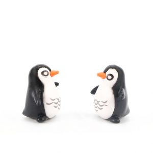 Resin Penguin Model Micro Landscape