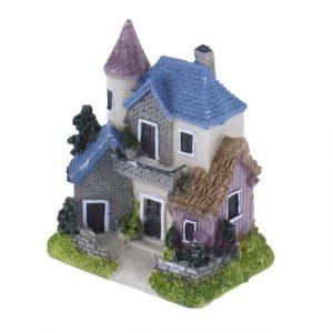 Cute Mini Resin House Miniature House
