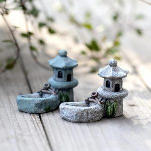 Mini Pool Tower Miniature Landscape