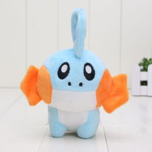 Pokemon TOMY Mudkip Plush Toy Soft Doll Gift for Kids