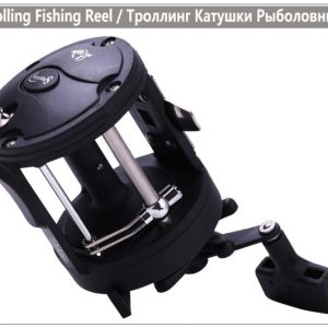 4000L Black Right Hand Trolling Reel