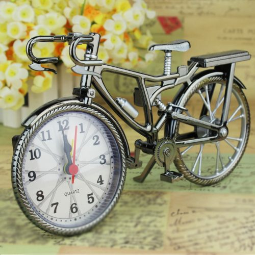 Bicycle Alarm Clock For Home Decoration