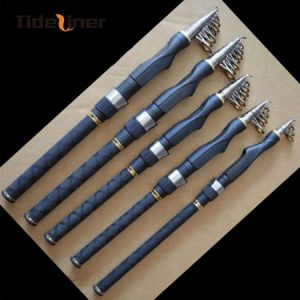Fishing rod telescopic fishing spinning rod