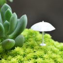 White Umbrella Decoration Miniature